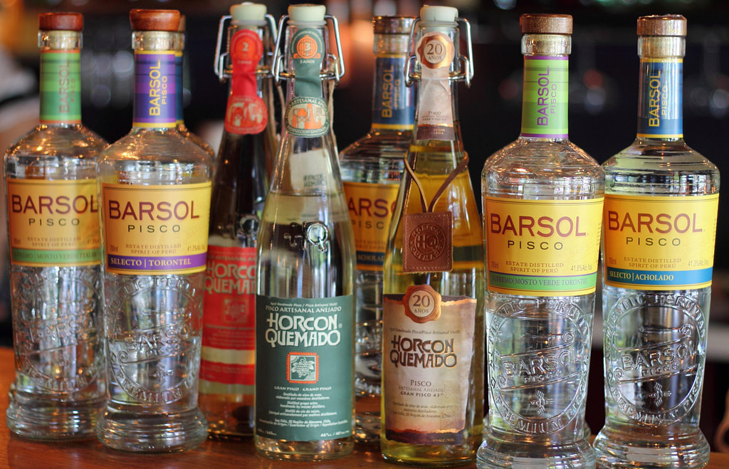 Range of Pisco