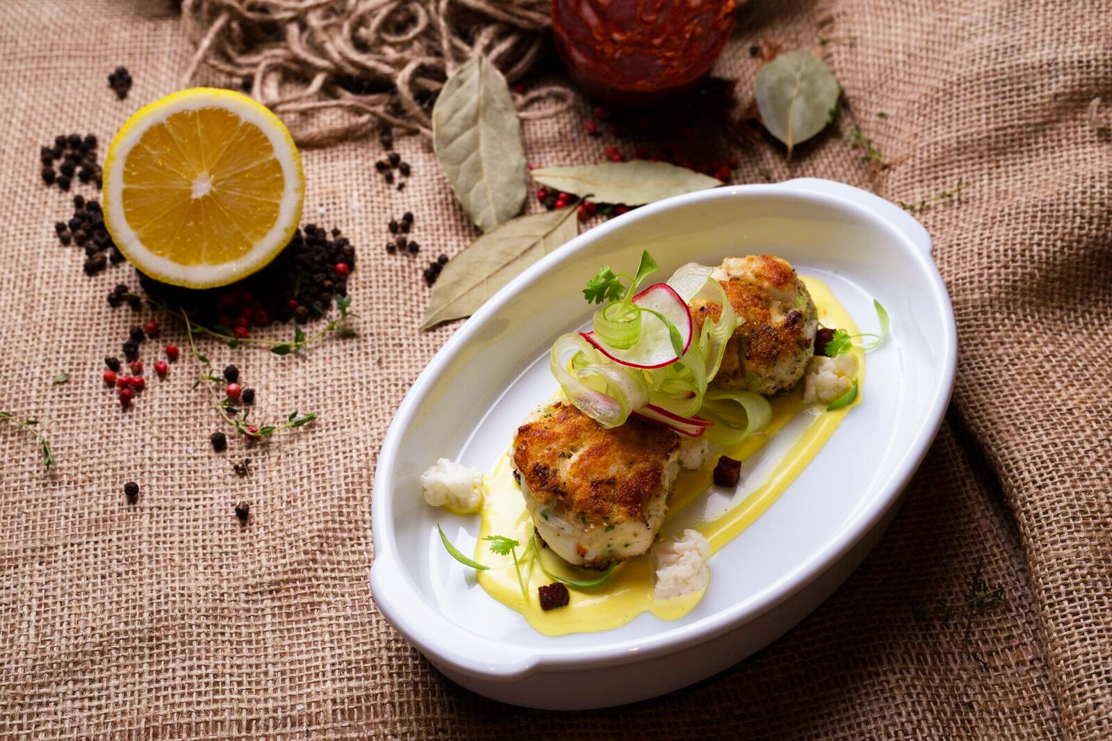 Crab Cakes With A Mediterranean Twist