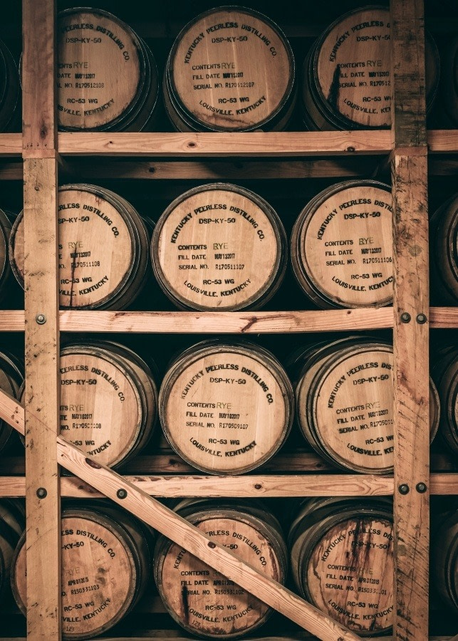 Corn Whiskey Barrels