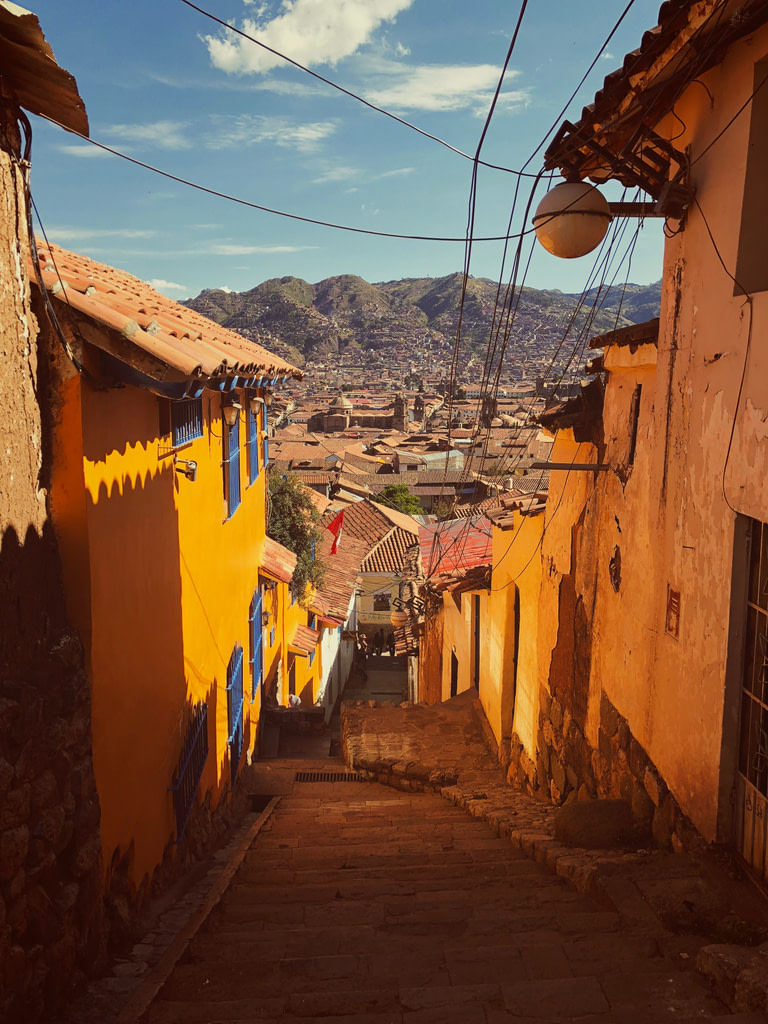 The city of pisco