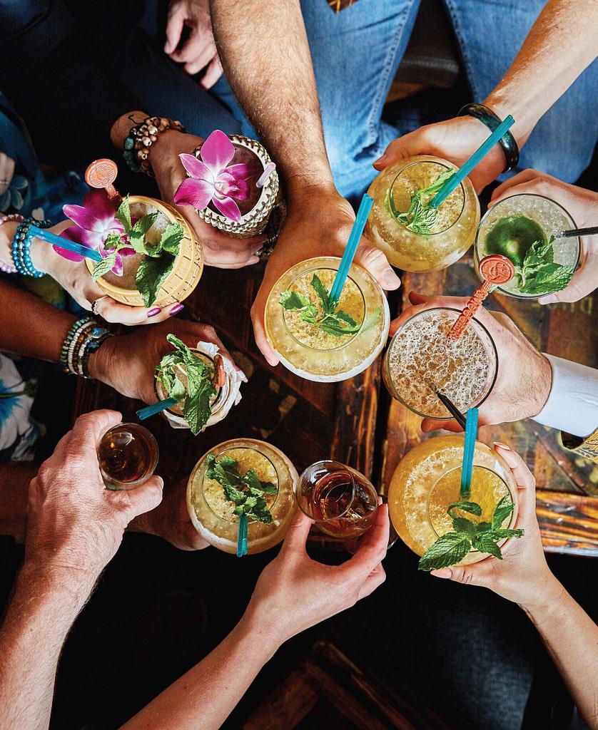 Tiki Drinks Cheers